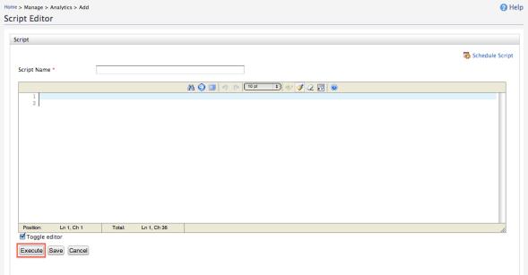 Execute Apache Hive script